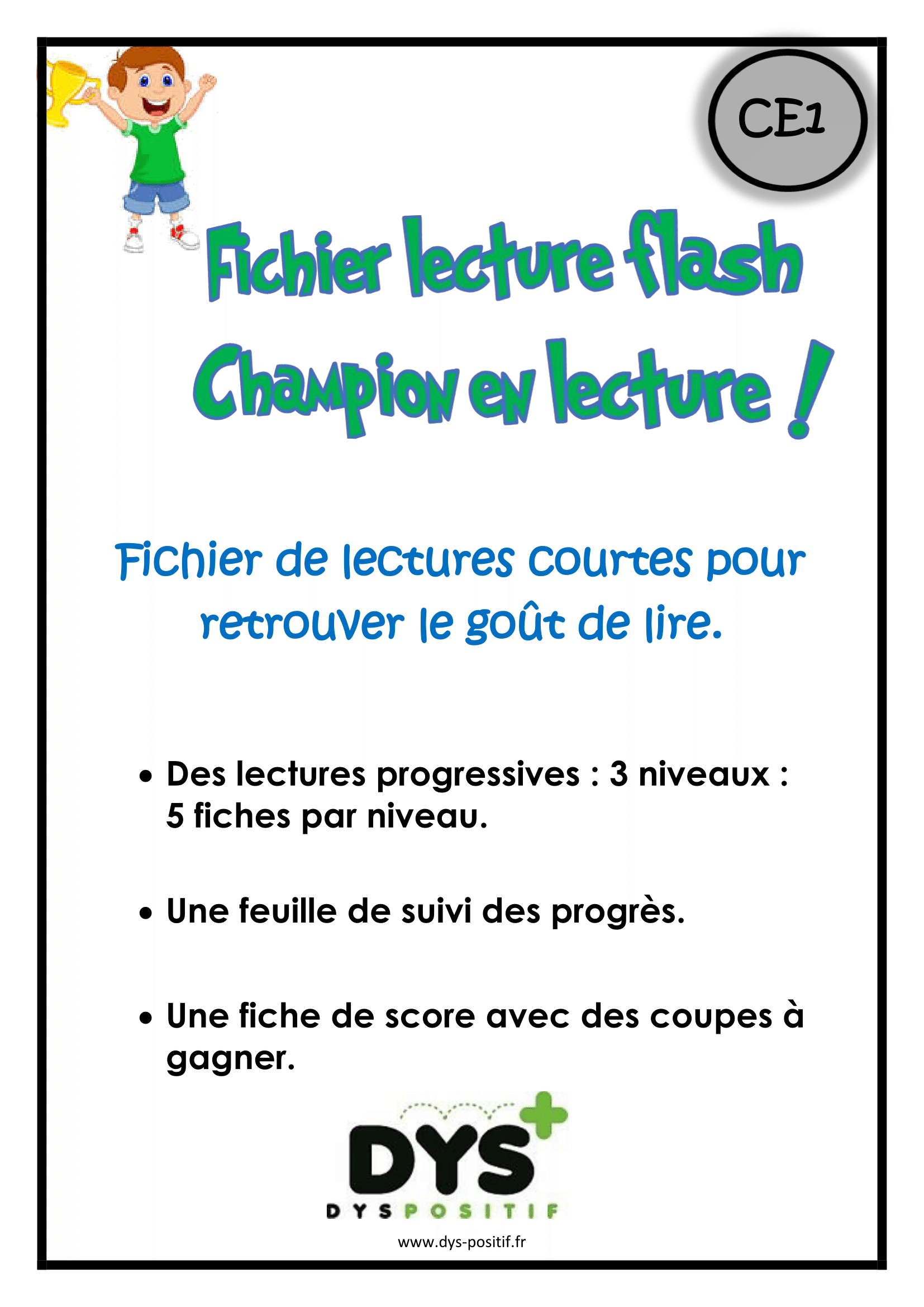 Lecture flash CE1