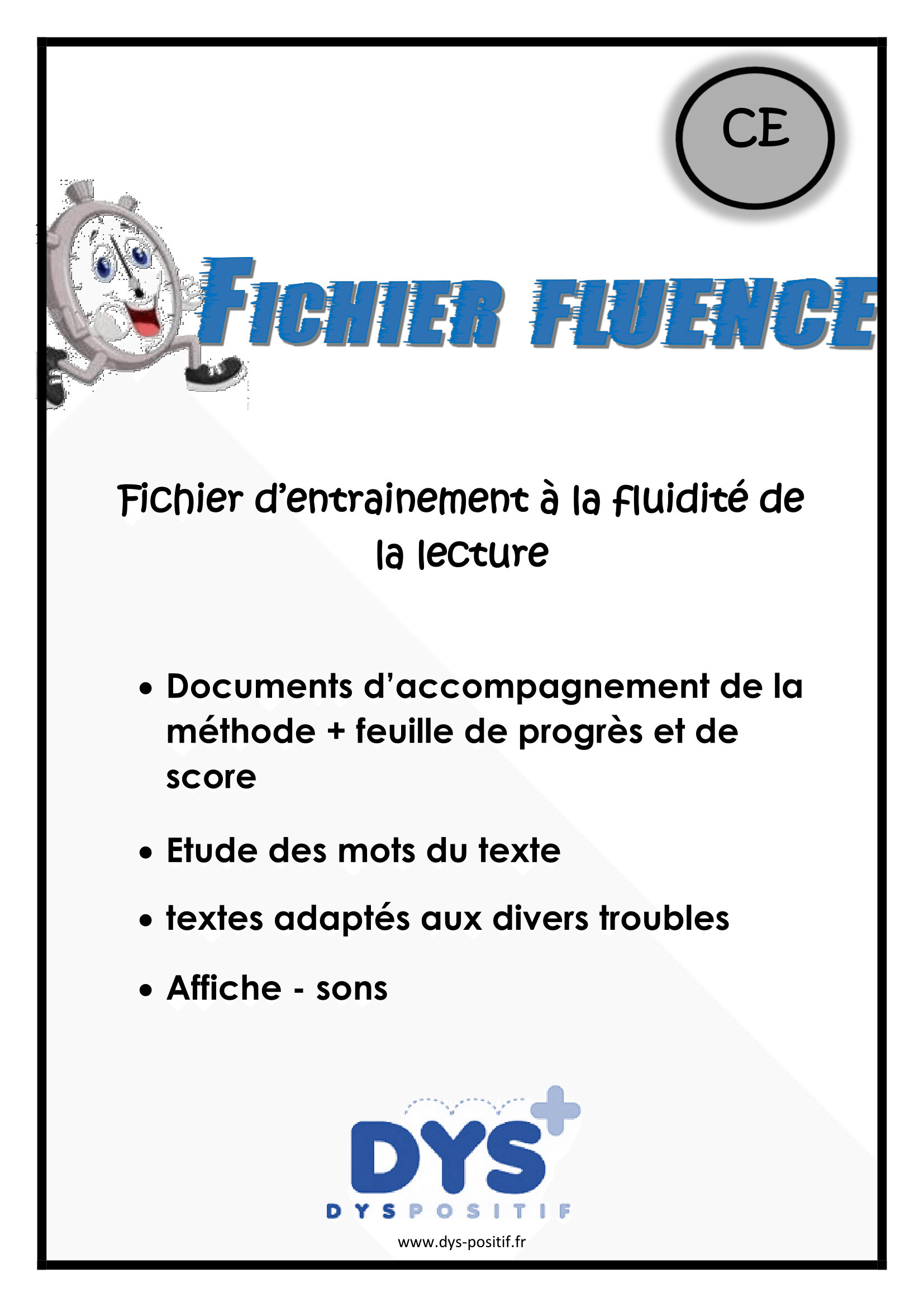 Lecture fluence CE1