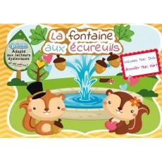 La fontaine aux écureuils – CP – Livre adapté DYS
